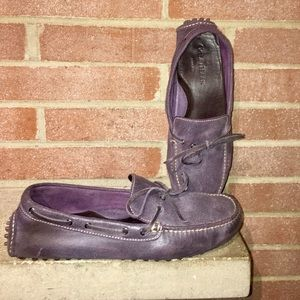 Cole Haan Men's Size 10.5 Purple Leather moccasins